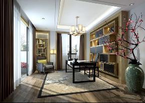 中式 新中式 别墅 白领 收纳 80后 小资 朱平波 书房图片来自朱平波在和泓半山——回归本色的分享