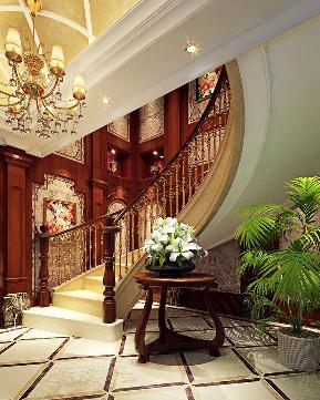 欧式 混搭 别墅 白领 收纳 80后 小资 朱平波 楼梯图片来自朱平波在中信未来城——欧洲气韵的分享