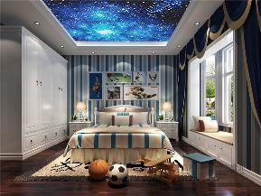 北欧 别墅 小资 80后 高帅富 儿童房图片来自高度国际姚吉智在240平米北欧混搭森林春雨进行曲的分享