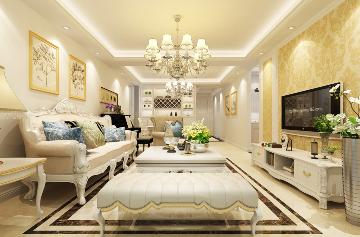 九台2000家园-120平米-简欧风格