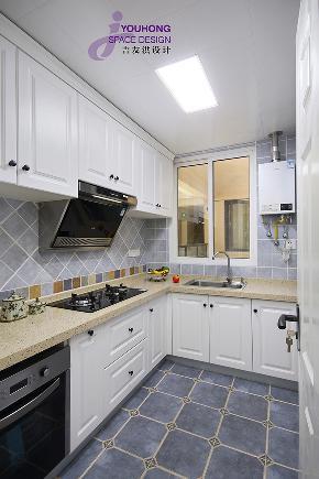小资 90后 简美 美式 小清新 厨房图片来自无锡吉友洪设计工作室在梦想家的分享