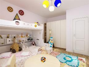 简约 现代 二居 收纳 小资 儿童房图片来自阳光力天装饰在力天装饰-观锦-91㎡-现代简约的分享