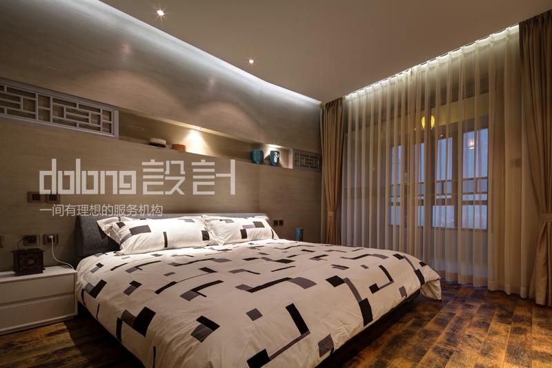 别墅 卧室图片来自DoLong董龙设计在大道至简的分享