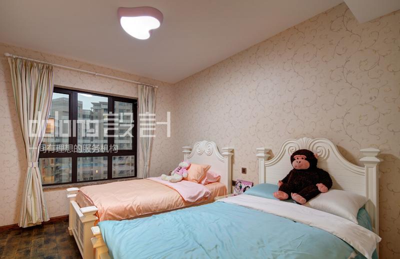 别墅 儿童房图片来自DoLong董龙设计在大道至简的分享