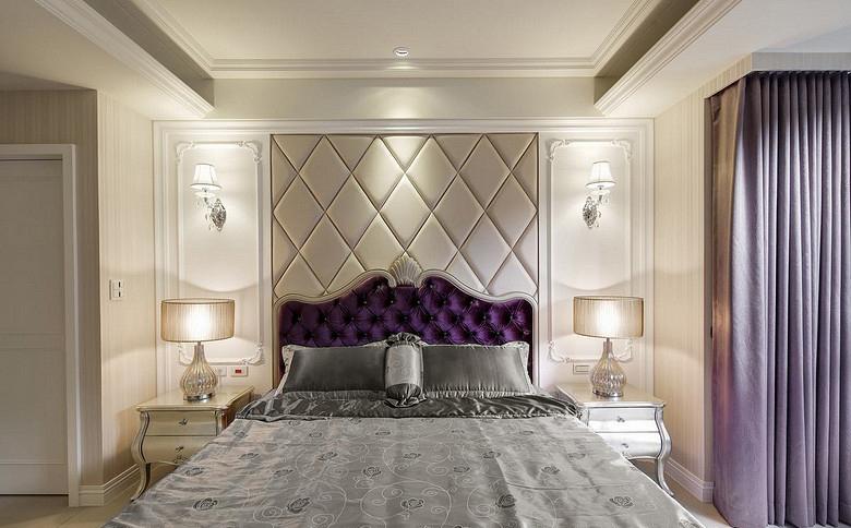 卧室图片来自家装大管家在温馨格调 138平欧式简约混搭3居的分享