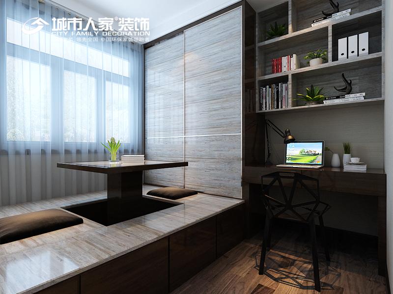 简约 样板间设计 绿地卢浮 装修设计 装修报价 卧室图片来自太原城市人家装饰在爆棚绿地卢浮公馆140平米设计的分享