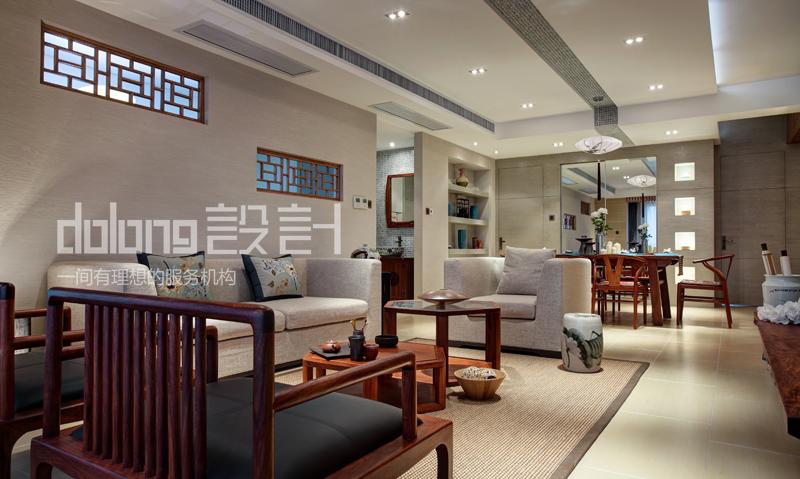 别墅 客厅图片来自DoLong董龙设计在大道至简的分享
