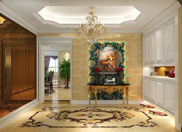 富春玫瑰园350方别墅欧式风格