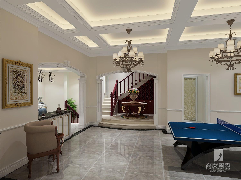 别墅 高度国际 其他图片来自杭州别墅装修设计在东海闲湖城排屋别墅美式风格的分享