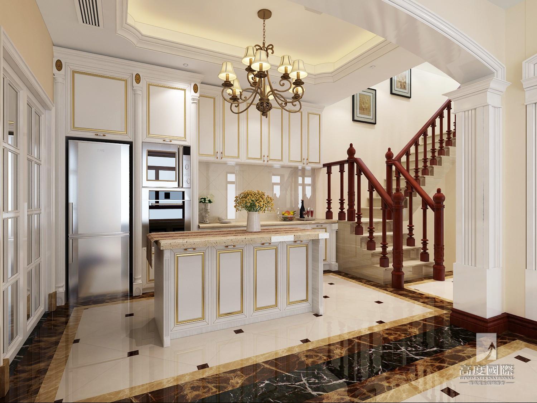 别墅 高度国际 餐厅图片来自杭州别墅装修设计在东海闲湖城排屋别墅美式风格的分享
