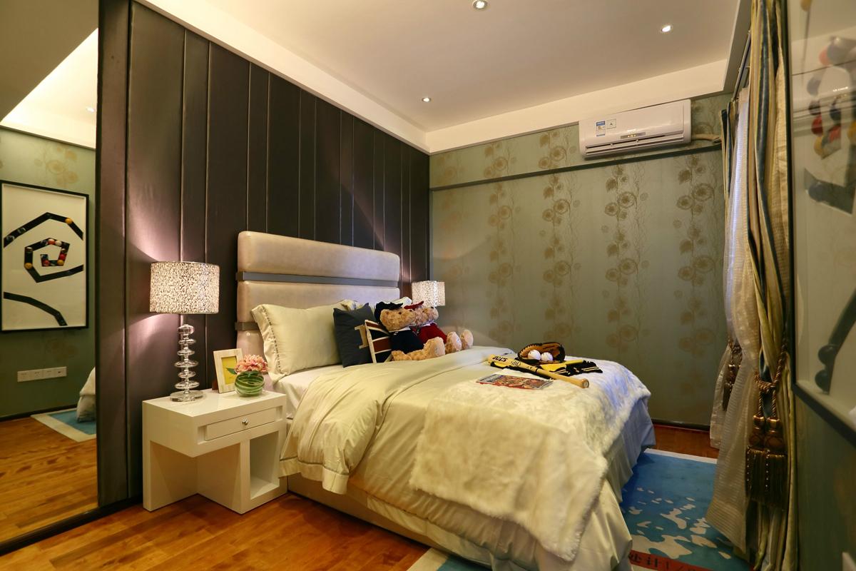 北京 别墅 装修 设计 现代风格 卧室图片来自北京紫禁尚品装饰刘霞在国瑞生态城·瑞景墅167平别墅设计的分享