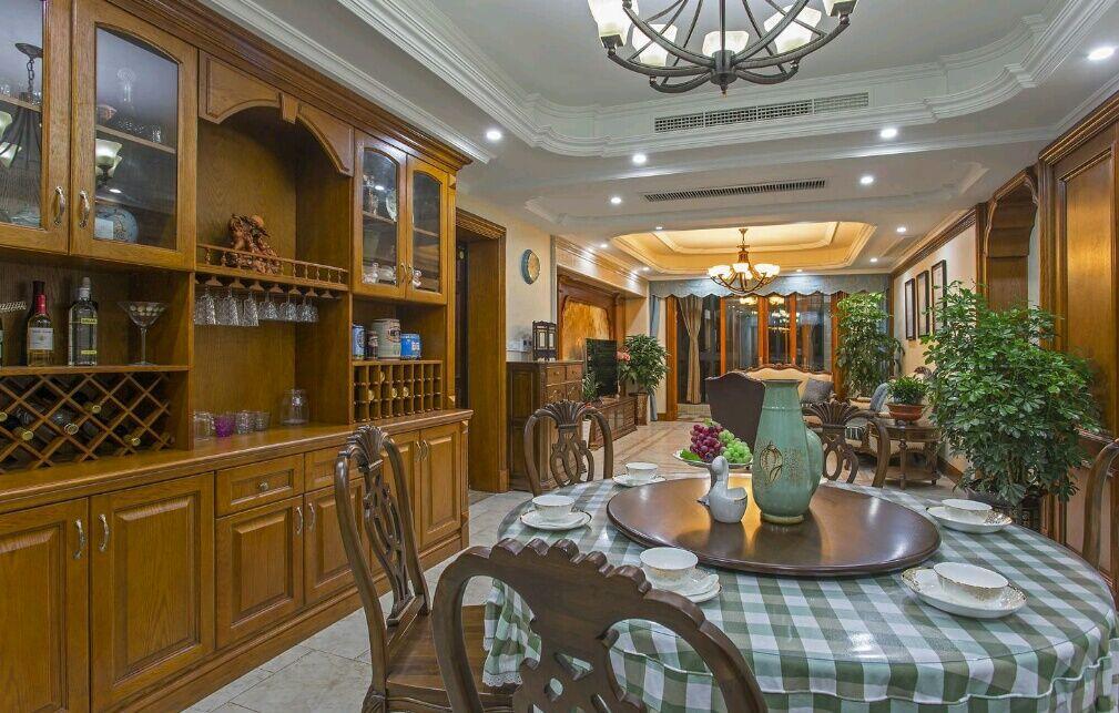 嘉年华装饰 菩提苑 170平 四居室 美式风格 餐厅图片来自武汉嘉年华装饰在温馨美满的分享