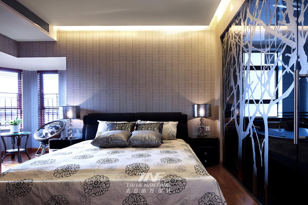 中式风格  四居室  白领 卧室图片来自王五平设计在东莞皇家公馆住宅的分享