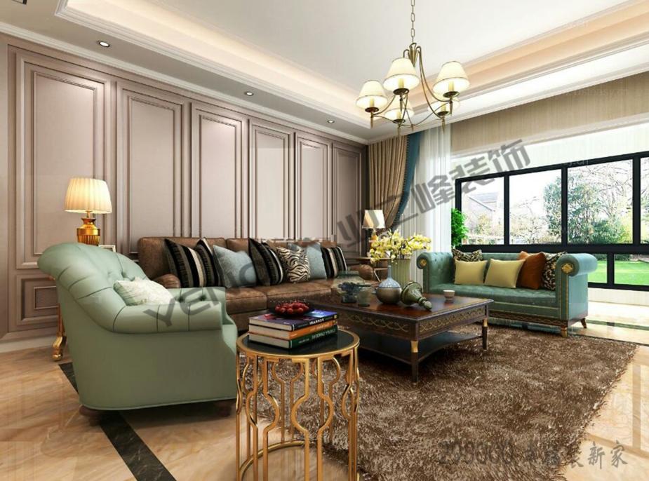 别墅 欧式 奢华 厨房 卧室 客厅 餐厅图片来自威海业之峰装饰在威海业之峰装饰--威高乾和园的分享