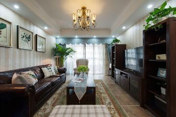 和谐家园-145平米-美式风格