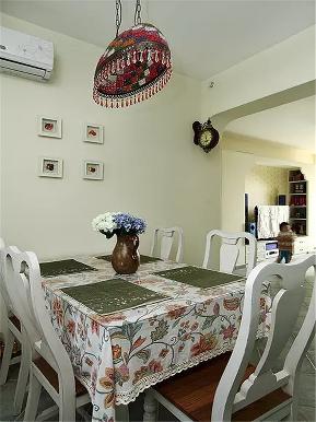 简约 地中海 二居 白领 80后 小资 餐厅图片来自高度国际姚吉智在89平米简约地中海小两口温馨之家的分享
