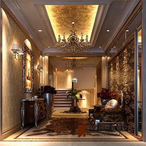 欧式 新古典 别墅 小资 高帅富 玄关图片来自高度国际姚吉智在500平米新古典欧式寸寸精装修的分享