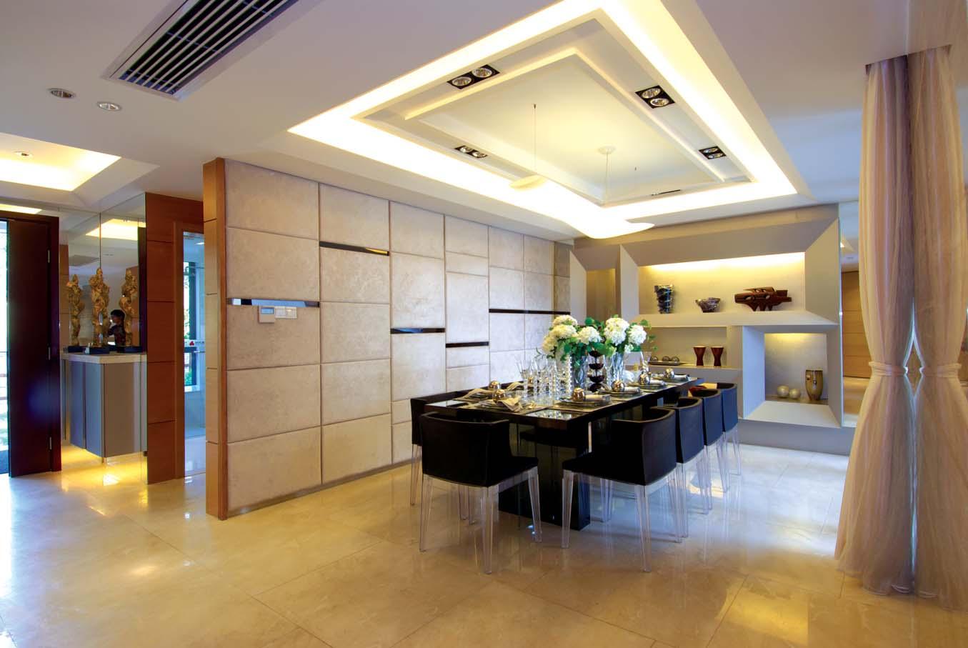 简约 别墅 白领 80后 小资 餐厅图片来自广州九艺(三星)装饰设计在时代依云小镇龙小姐雅居的分享