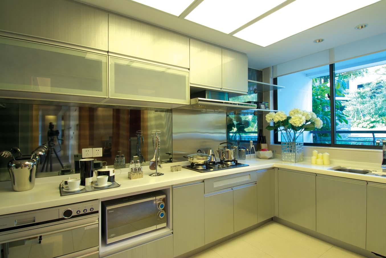 简约 别墅 白领 80后 小资 厨房图片来自广州九艺(三星)装饰设计在时代依云小镇龙小姐雅居的分享