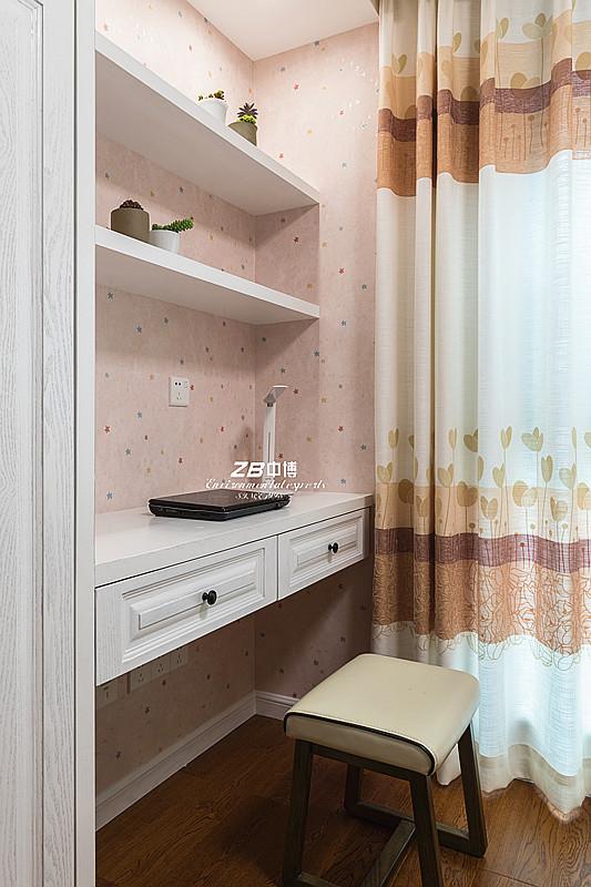 简约 三居 白领 收纳 80后 小资 中式 文艺青年 舒适 书房图片来自中博装饰在龙湖明景台新中式知性居家的分享