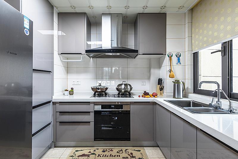 简约 三居 白领 收纳 80后 小资 中式 文艺青年 舒适 厨房图片来自中博装饰在龙湖明景台新中式知性居家的分享