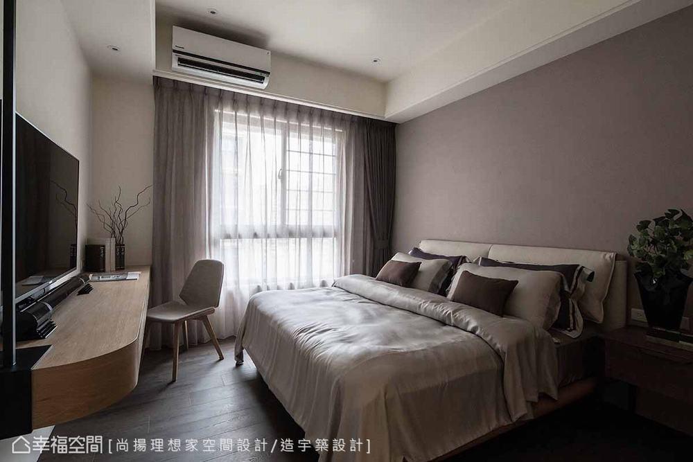 三居 现代 卧室图片来自幸福空间在层迭馨暖 渲染165平沉稳静谧之家的分享