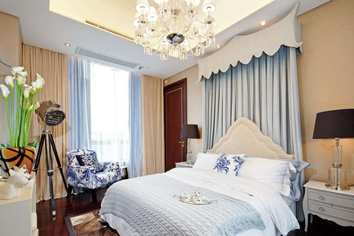 北京 朝阳 公寓 装修 设计 卧室图片来自北京紫禁尚品装饰刘霞在176平公寓锦上添花的分享