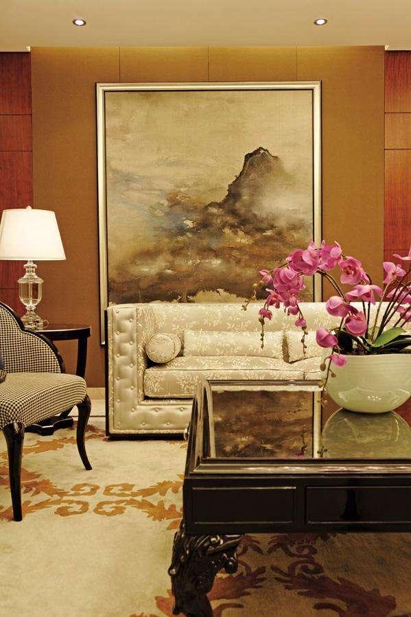 北京 朝阳 公寓 装修 设计 客厅图片来自北京紫禁尚品装饰刘霞在176平公寓锦上添花的分享