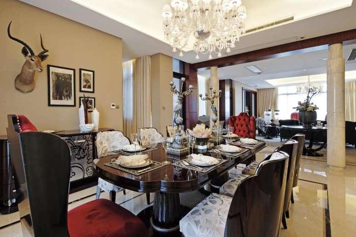 北京 朝阳 公寓 装修 设计 餐厅图片来自北京紫禁尚品装饰刘霞在176平公寓锦上添花的分享