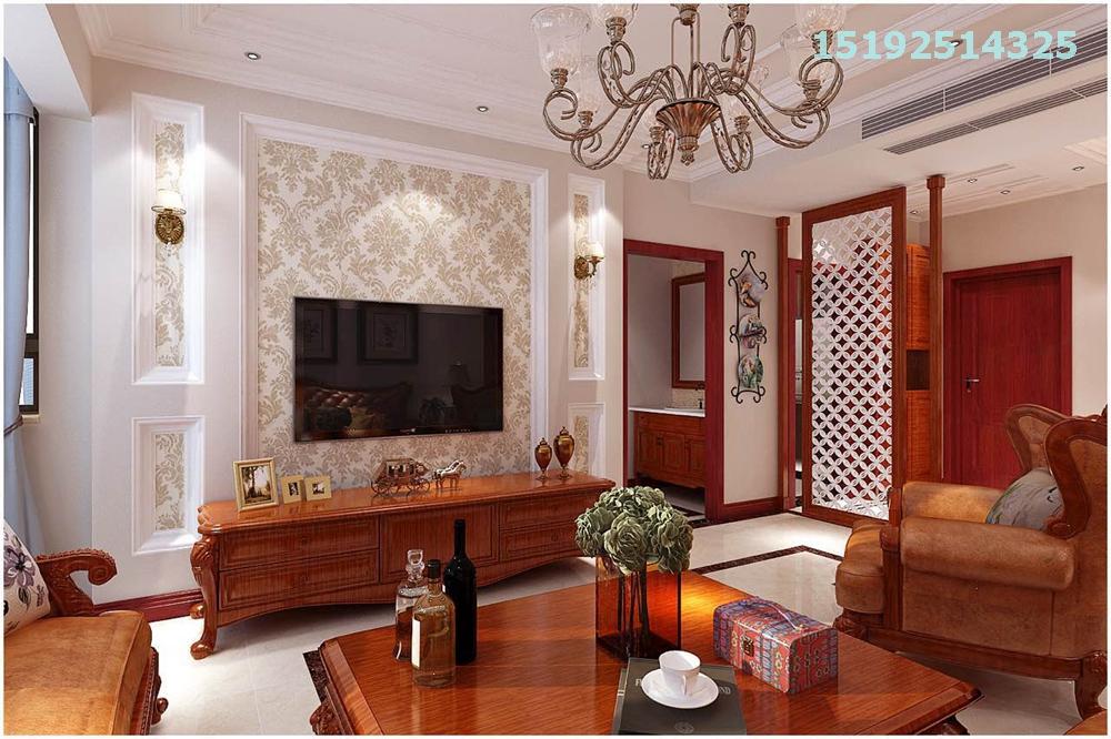 欧式 实创 金茂湾 三居 80后 客厅图片来自快乐彩在青岛三居室金茂湾装修案例美式的分享