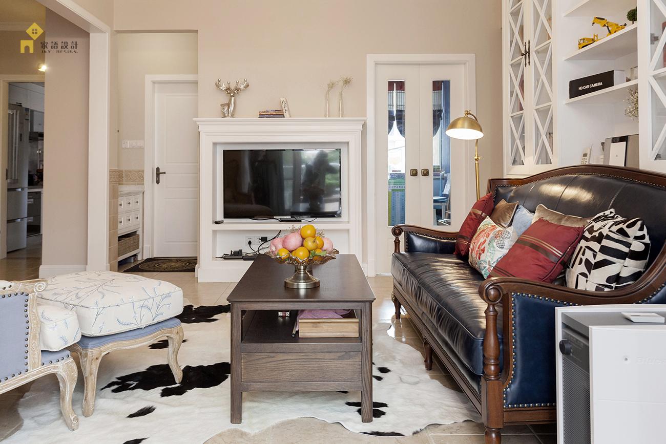 美式 休闲 客厅图片来自jiayu在遇见·home时光的分享