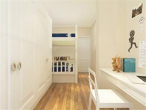 简约 现代 二居 收纳 小资 儿童房图片来自阳光力天装饰在力天装饰-天津暖阳家园-81㎡的分享