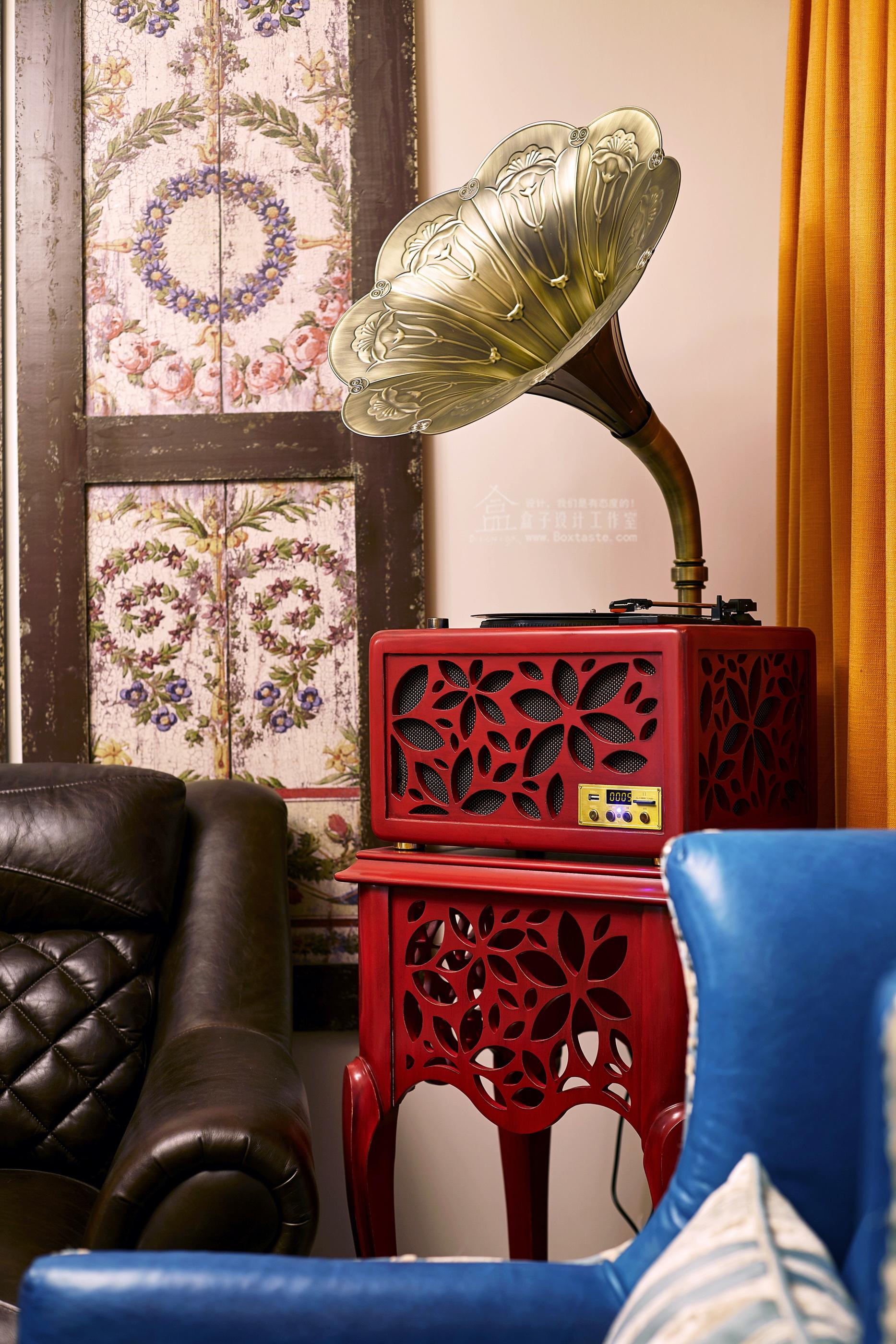 美式 三居 欧式 客厅 卧室 餐厅图片来自盒子设计在都市华尔兹——盒子新作的分享