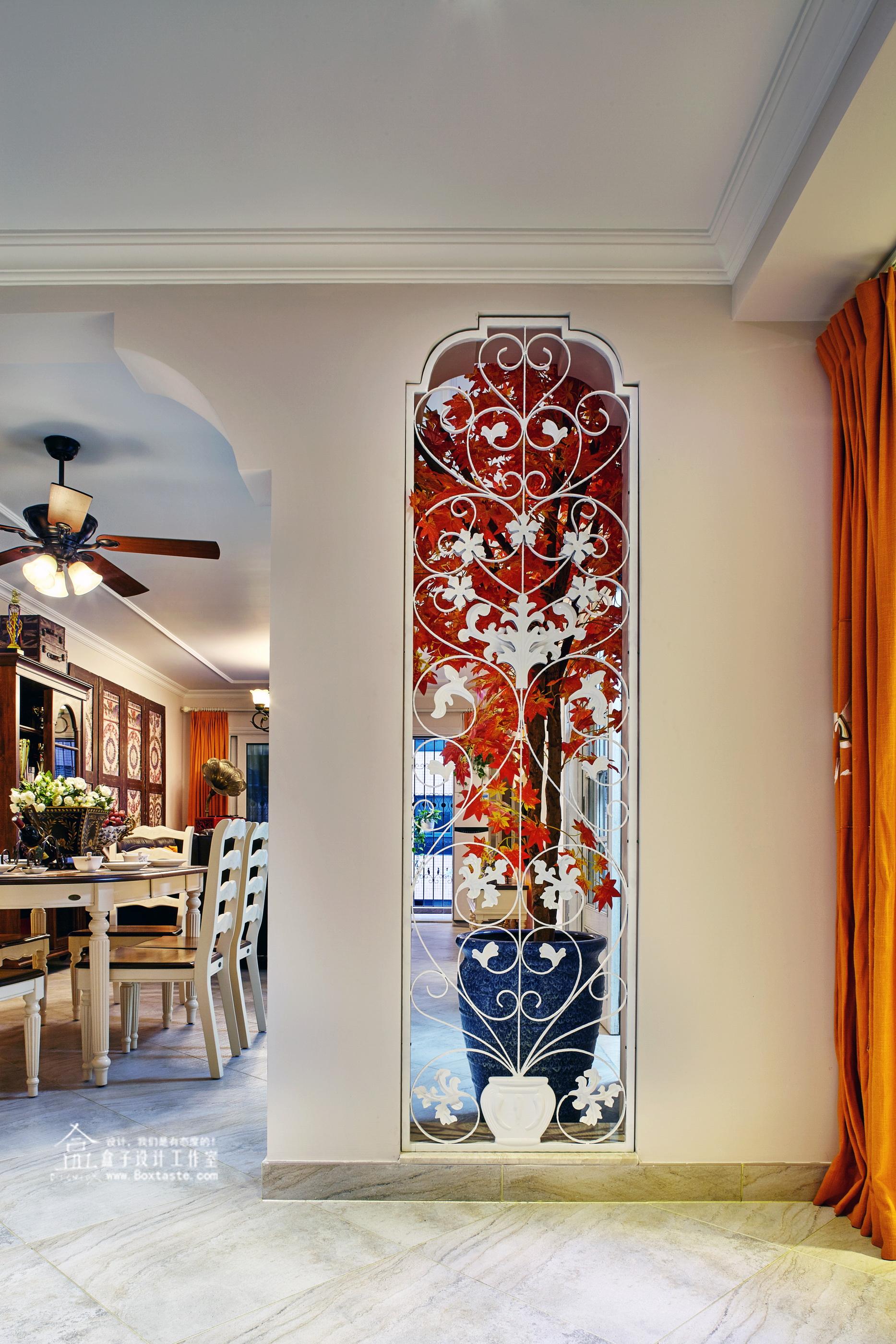 美式 三居 欧式 客厅图片来自盒子设计在都市华尔兹——盒子新作的分享