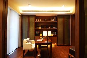 简约 欧式 田园 二居 三居 别墅 白领 中式风格 旧房改造 书房图片来自元洲装饰木子在海上海花园中式风格装修案例的分享