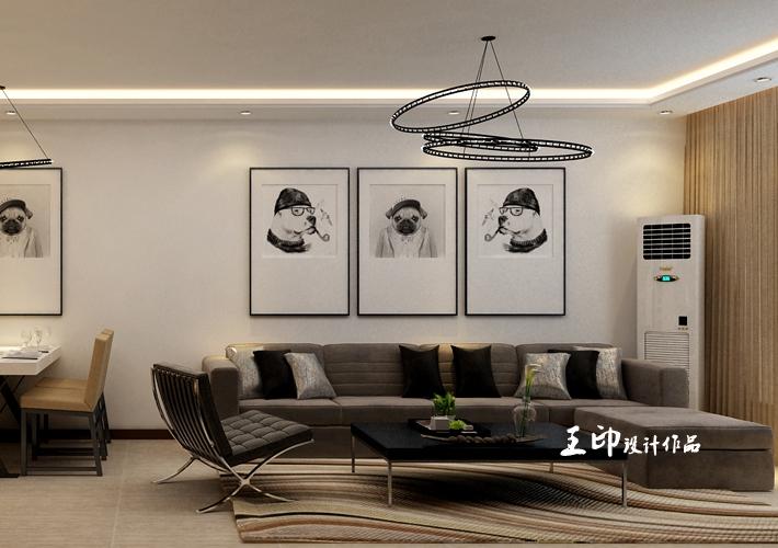 客厅图片来自沈阳百家装饰-小冯在c 92平港式混搭的分享
