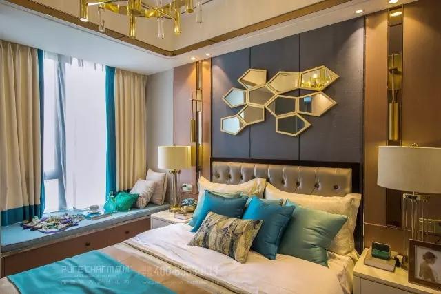 卧室图片来自品川室内设计在【品川设计】经典现代风格四的分享