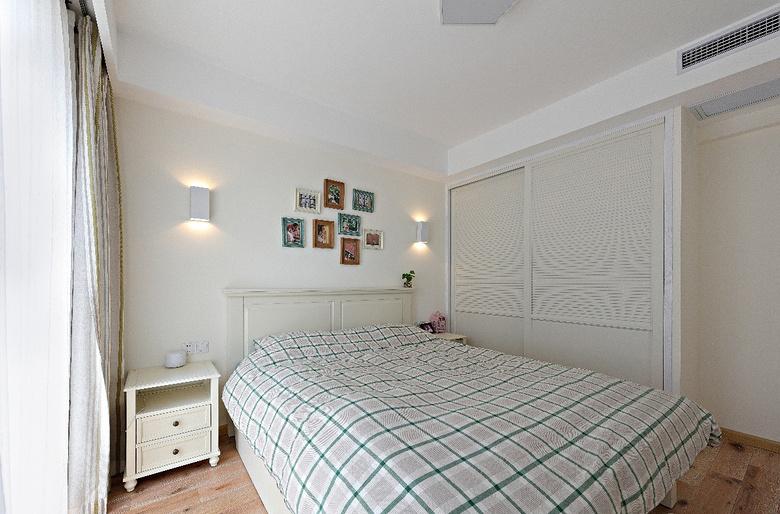 卧室图片来自家装大管家在89平北欧清新之家 文艺青年之选的分享
