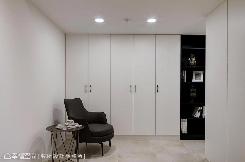 三居 现代 卧室图片来自幸福空间在通透明朗 描绘106平现代净亮居家的分享