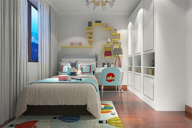 龙发装饰 润景家园 北欧 二居 装修设计 卧室图片来自龙发装饰天津公司在润景家园两居北欧风格的分享
