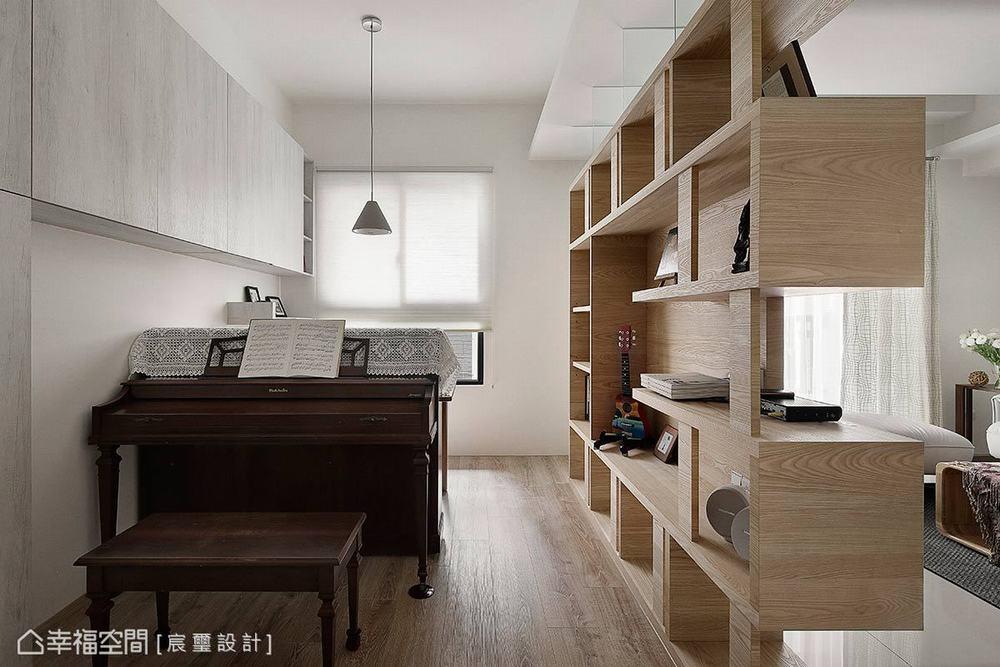 三居 现代 书房图片来自幸福空间在日光盈朗的99平幸福温度的分享
