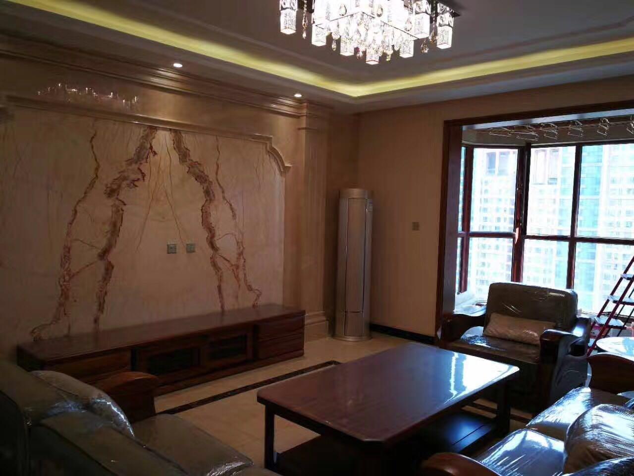 三居 小资 80后 客厅图片来自西安峰光无限装饰在伟业公馆新中式的分享