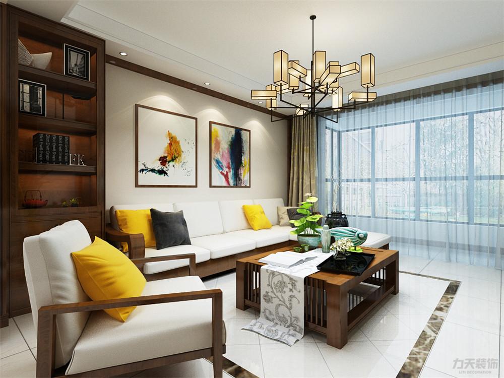 朝阳花园 三居 客厅图片来自阳光放扉er在力天装饰-宁河朝阳花园150㎡的分享