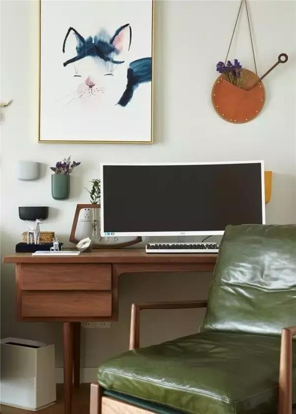 书房图片来自家居装饰-赫拉在兰州实创装饰海德堡84北欧实景的分享
