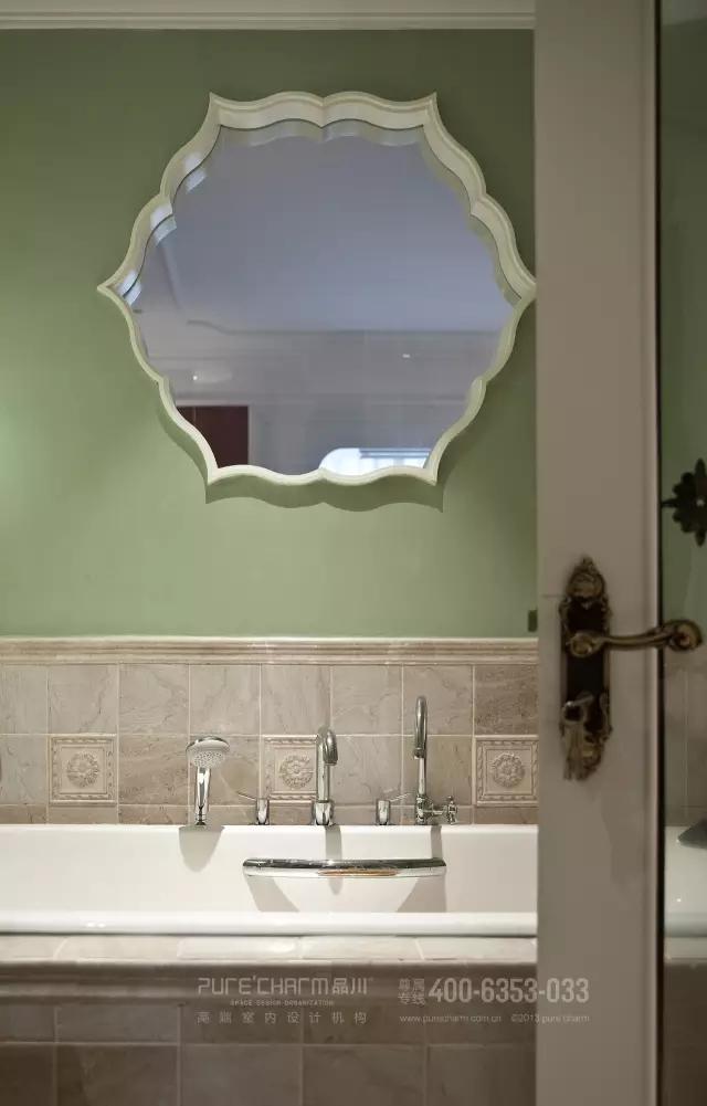 卫生间图片来自品川室内设计在【品川设计】经典现代美式风格的分享