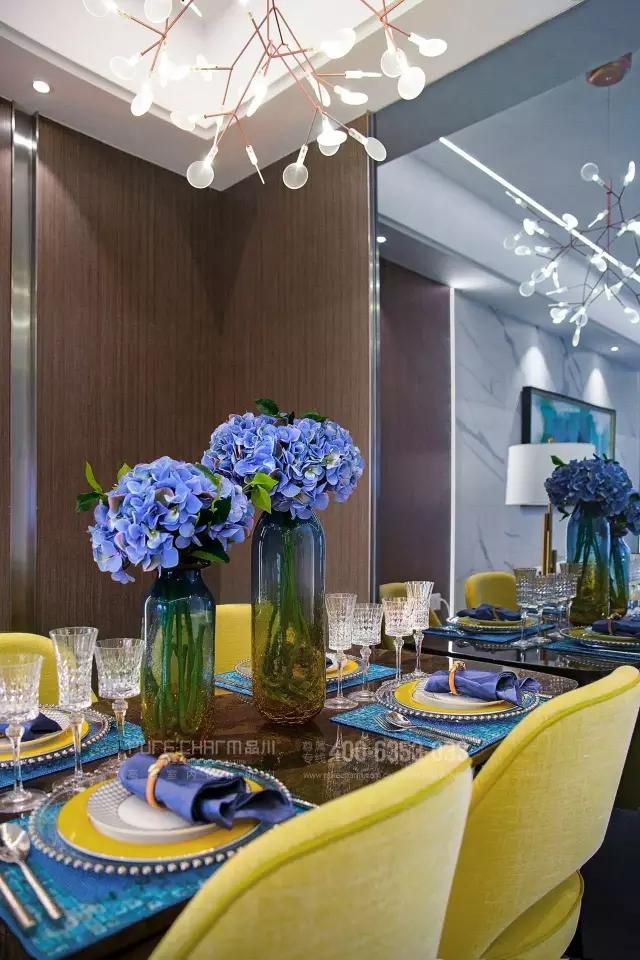 餐厅图片来自品川室内设计在【品川设计】经典现代风格四的分享