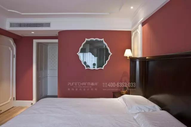 卧室图片来自品川室内设计在【品川设计】经典现代美式风格的分享