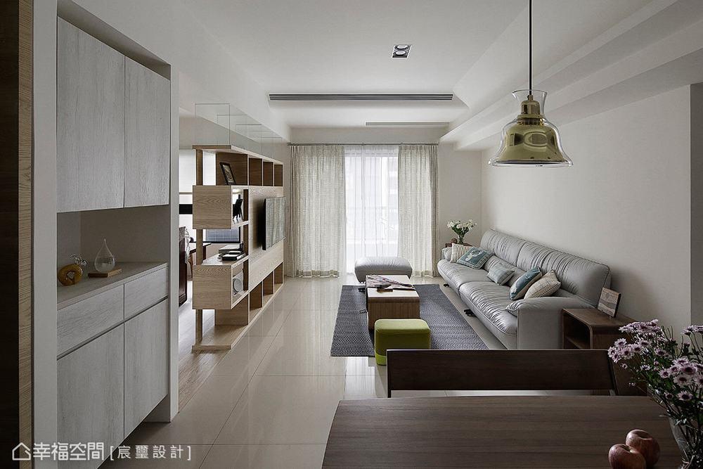 三居 现代 客厅图片来自幸福空间在日光盈朗的99平幸福温度的分享