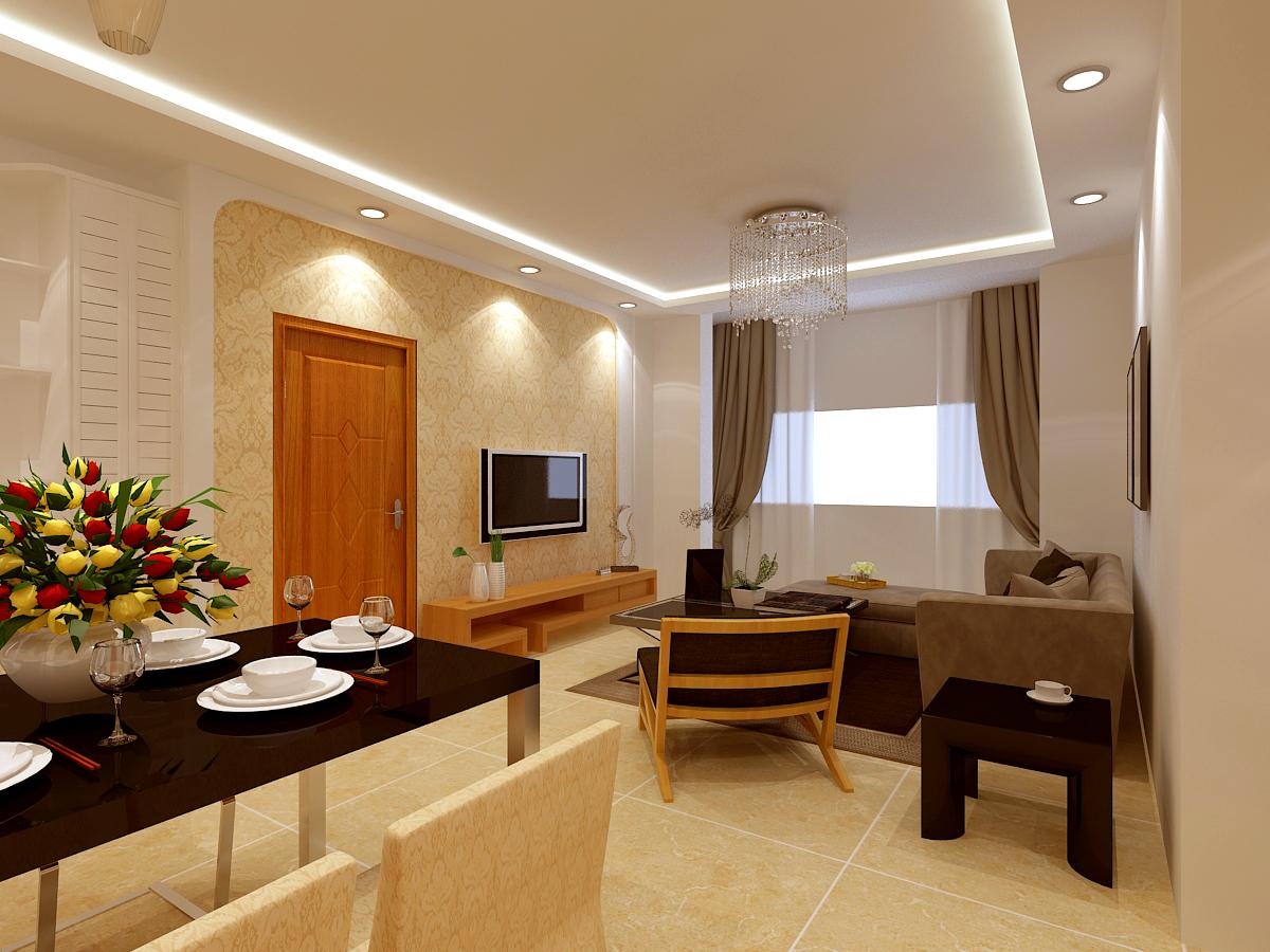 现代风格 二居 九州御府 客厅图片来自百家设计小刘在保利达翠堤湾120平现代风格的分享