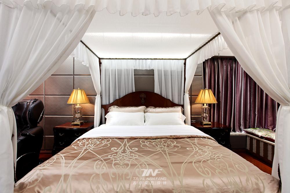 新中式风格 太合南方设 别墅毫宅 卧室图片来自王五平设计在京基御景东方豪宅的分享